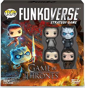Pop! Funkoverse Strategy Game Game of Thrones 100 4-Pack
