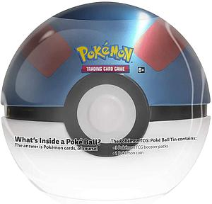 Pokemon Trading Card Game: Poke Ball Great Ball Tin (Summer 2020)