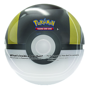 Pokemon Trading Card Game: Poke Ball Ultra Ball Tin (2020)