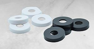 Plastic Colored Rings for Miniatures Bases (8-Pack)