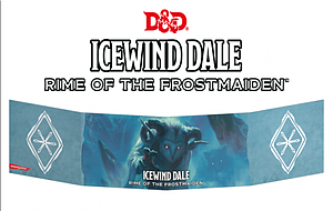 Dungeons & Dragons: Icewind Dale - Rime of the Frostmaiden Dungeon Master's Screen