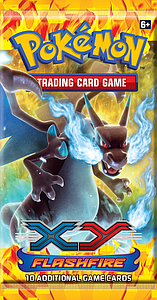 Pokemon Trading Card Game: XY Flashfire Booster Pack (10 Cards)
