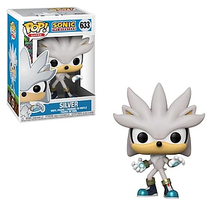 Pop! Games Sonic the Hedgehog Vinyl Figure Silver the Hedgehog