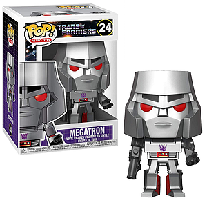 Pop! Retro Toys Transformers Vinyl Figure Megatron #24