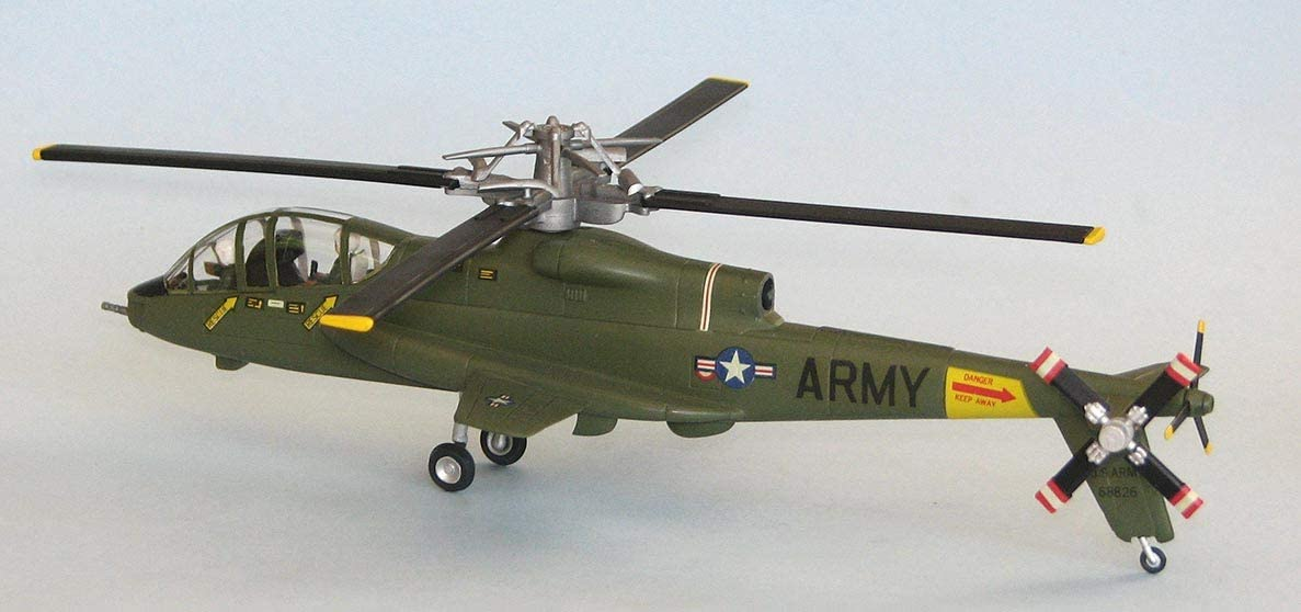 ATLANTIS 1:72 Scale Helicopter Plastic Model Kit AH-56A Cheyenne Chopper (A506)