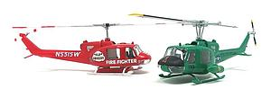 Huey Choppers - Gunship and Firefighter 2-Kit (M1026)
