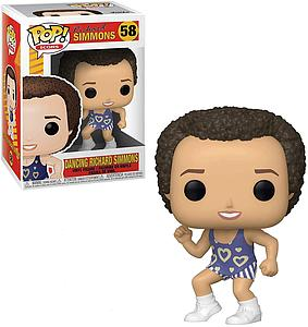 Pop! Icons Richard Simmons Vinyl Figure Dancing Richard Simmons #58