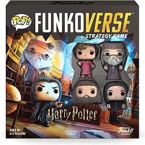 Pop! Funkoverse Strategy Game Harry Potter 102 4-Pack