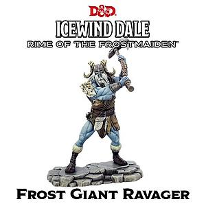 Dungeons & Dragons Icewind Dale: Rime of the Frostmaiden Miniature - Frost Giant Ravager