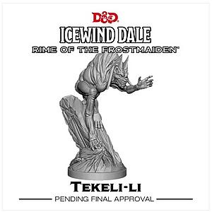 Dungeons & Dragons Icewind Dale: Rime of the Frostmaiden Miniature - Tekeli-Li