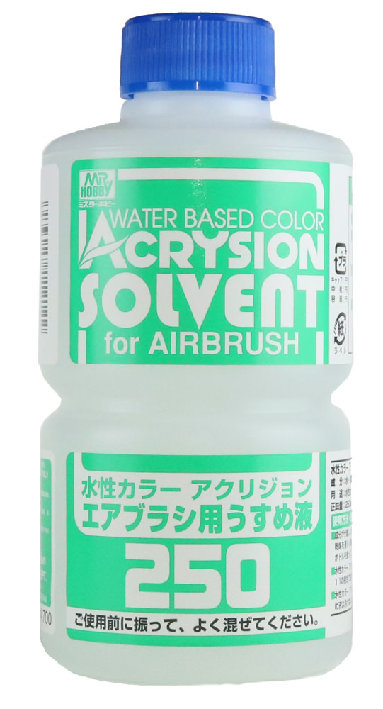 Acrysion Solvent for Airbrush 250 (T314)