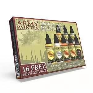 The Army Painter Warpaints - Metallics Paint Set (WP8043)