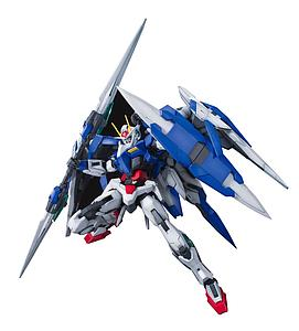 Gundam Master Grade Gundam 00 1/100 Scale Model Kit: 00 Raiser GN-0000+GNR-010