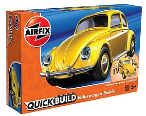 AIRFIX Plastic Model Kit Quick Build Volkswagen Beetle (J6023)