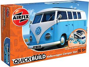 AIRFIX Plastic Model Kit Quick Build Volkswagen Camper Van (J6024)