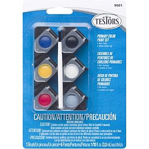 TESTORS Primary Acrylic Paint Set (9001)