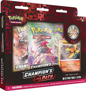 Pokemon Trading Card Game: Champion's Path Pin Collection - Motostoke Gym (Centiskorch)