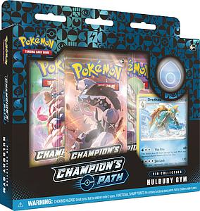 Pokemon Trading Card Game: Champion's Path Pin Collection - Nessa's Hulbury Gym (Drednaw)
