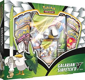 Pokemon Trading Card Game: Galarian Sirfetch'd V Box