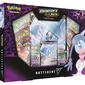 Pokemon Trading Card Game: Champion's Path Collection - Hatterene V Box