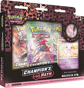 Pokemon Trading Card Game: Champion's Path Pin Collection - Opal's Ballonlea Gym (Alcremie)