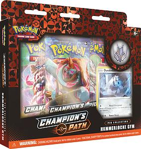 Pokemon Trading Card Game: Champion's Path Pin Collection - Raihan's Hammerlocke Gym (Duraludon)