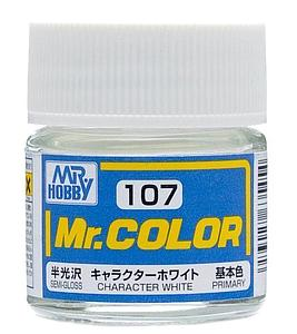Mr. Color 107 - Character White Semi-Gloss/Primary (C107)