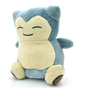 "Pokemon Plush Snorlax (7"")"