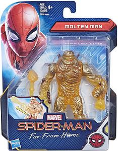 "HASBRO Marvel Spider-Man Far From Home 6"" Action Figure Molten Man"