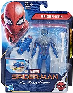 "HASBRO Marvel Spider-Man Far From Home 6"" Action Figure Under Cover Spiderman"