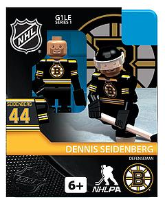Hockey Minifigures: Dennis Seidenberg (Boston Bruins)