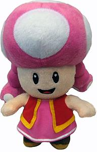 "Plush Toy Super Mario Bros 12"" Toadette"