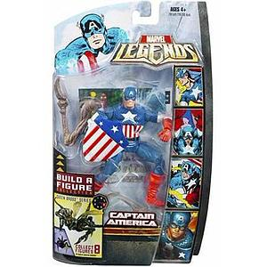 "Marvel Legends Marvel Heroes Series BAF Brood Queen 6"" Action Figure Captain America"