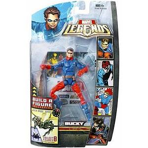 "Marvel Legends Marvel Heroes Series BAF Brood Queen 6"" Action Figure Bucky"