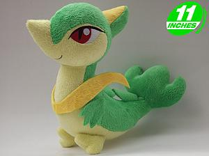"Plush Toy Pokemon 11"" Servine"