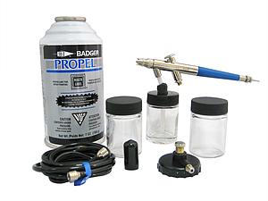 Badger Air-Brush Co. 200-3 Siphon Feed 200NH Airbrush Deluxe Set