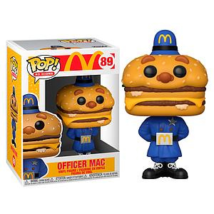 Pop! Ad Icons McDonald's Vinyl Figure Officer Mac #89