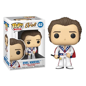 Pop! Icons Evel Vinyl Figure Evel Knievel (with Cape) #62