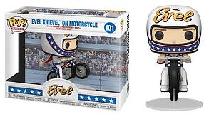 Pop! Rides Icons Evel Vinyl Figure Evel Knievel on Motorcycle #101