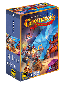 Gnomopolis: A Gnome Building Game