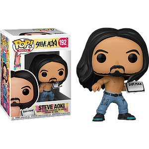 Pop! Rocks Steve Aoki Vinyl Figure Steve Aoki with Cake
