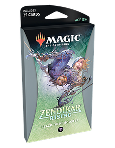 Magic the Gathering: Zendikar Rising Theme Booster - Black