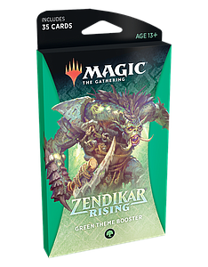 Magic the Gathering: Zendikar Rising Theme Booster - Green