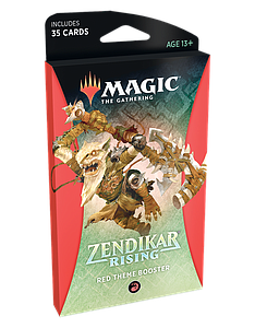 Magic the Gathering: Zendikar Rising Theme Booster - Red