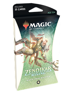 Magic the Gathering: Zendikar Rising Theme Booster - White