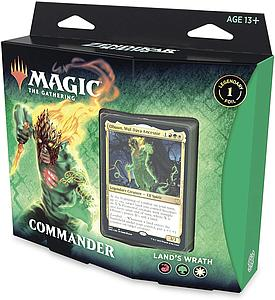 Magic the Gathering: Zendikar Rising Commander - Land's Wrath