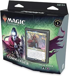 Magic the Gathering: Zendikar Rising Commander - Sneak Attack