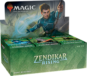 Magic the Gathering: Zendikar Rising Draft Booster Box