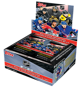 2020-21 NHL Sticker Collection Booster Box (50 Packs)