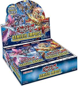 YuGiOh Trading Card Game Pack: Genesis Impact Booster Box